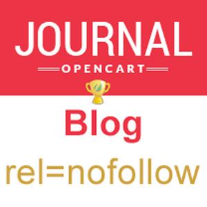 Запрет индексации выбранных категорий Блога в шаблоне Journal (vqmod)