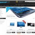 Шаблон ocStore Интернет-магазин +База