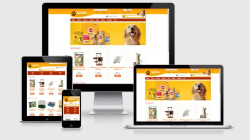 Шаблон зоомагазина / магазина зоотоваров PetShop