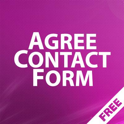 Agree ContactForm - условия конфиденциальности в форме обратной связи