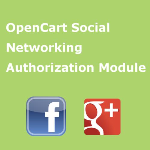 Модуль авторизации через социальные сети (Facebook, Instagram, Google+)