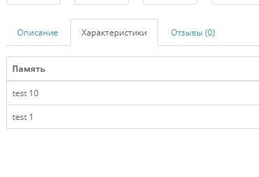 Отдельные чпу страницы характеристик товара и отзывов