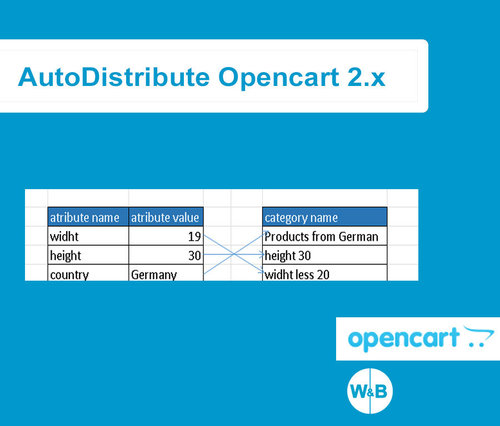 AutoDistribute + фильтр для Opencart 2x, 3.х