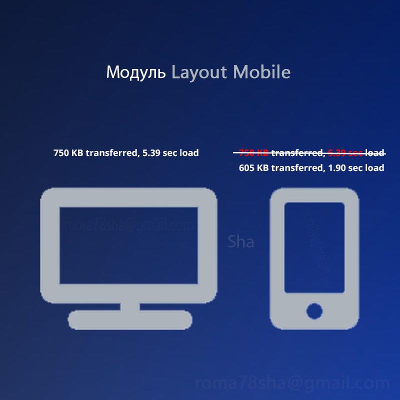 Layout Type, ускорение мобильной версии.