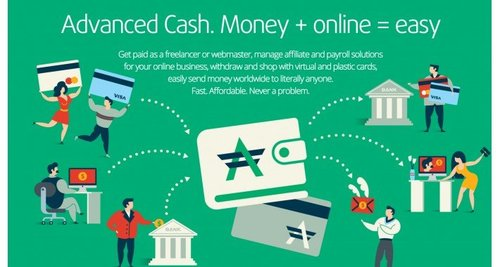 Advanced cash (adv cash) payment + transaction history