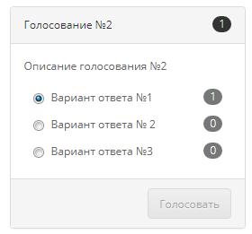OpenCart_Poll - Система голосований