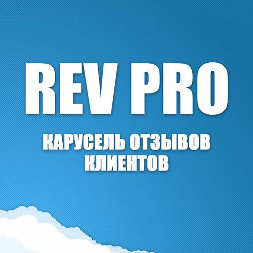 RevPro - карусель отзывов клиентов