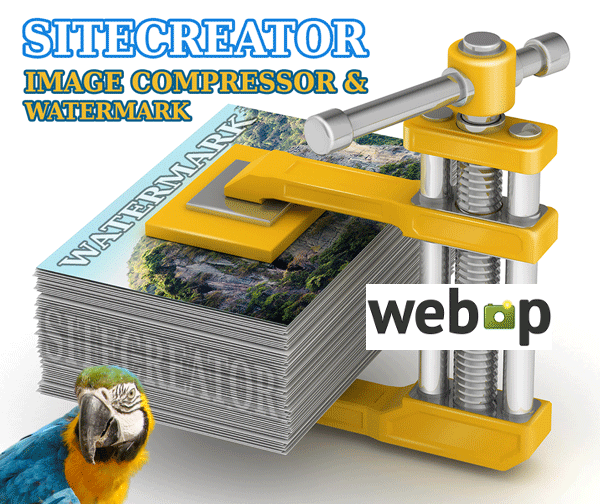 Image COMPRESSOR & Watermark & WebP & Lazy Load etc. by Sitecreator