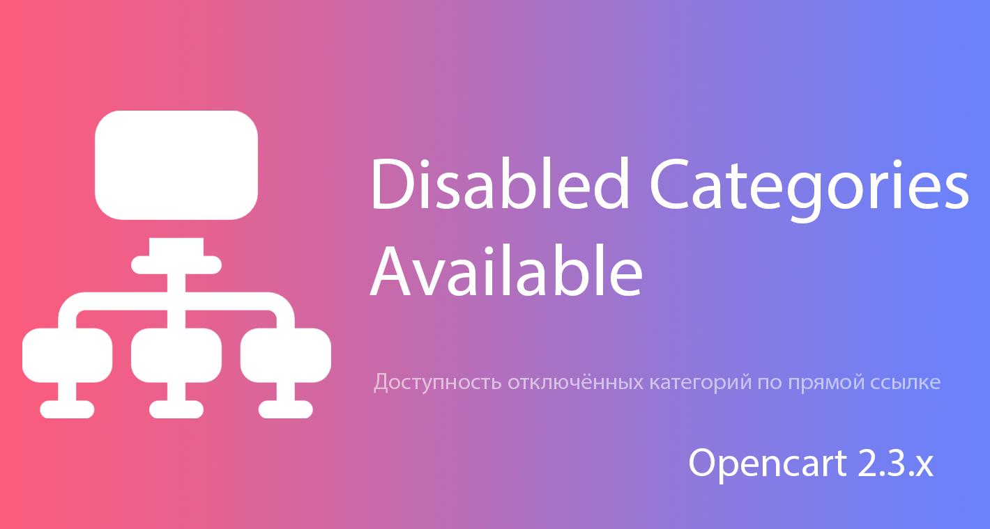 SEO Categories Disabling: Отключенные категории доступны по прямой ссылке