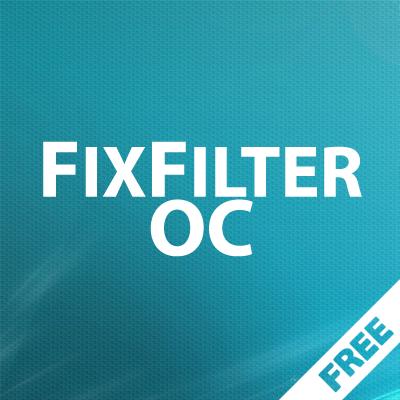 FixFilter OC2x - исправление фильтра в Opencart 2.0