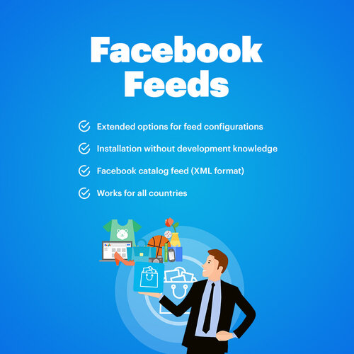 Facebook catalog feed (Facebook store) + Instagram feed (Лента каталога товаров для магазина Facebook + лента Instagram)
