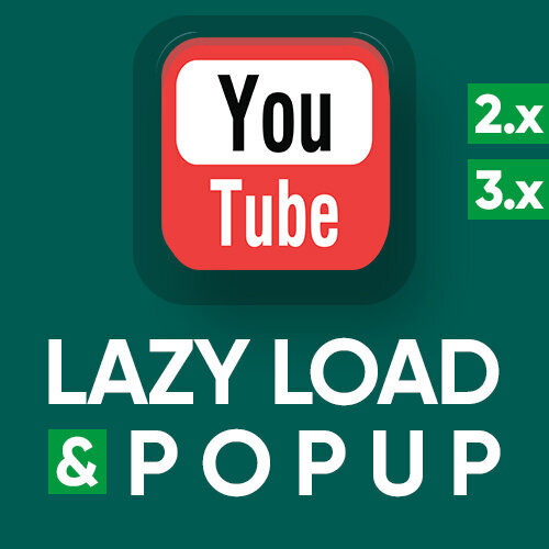 YouTube lazy load & popup - оптимизация и кастомизация iframe, увеличение page speed