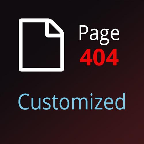 Страница 404 для OpenCart